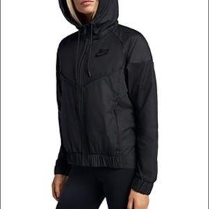 Nike Black Windbreaker XS